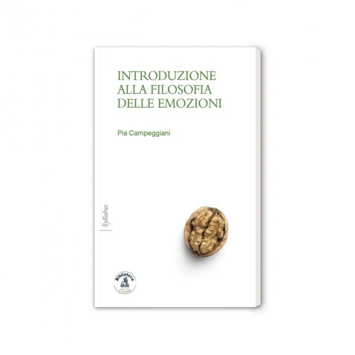"""Copertina del libro """"Introduzione alla filosofia delleemozioni"""""""