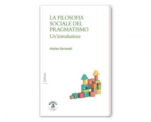 """Copertina del libro """"La filosofia sociale del pragmatismo"""""""